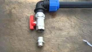 видео Автоматические трубные муфты