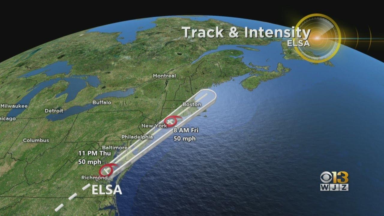Tornado Watch in effect for Eastern SHore