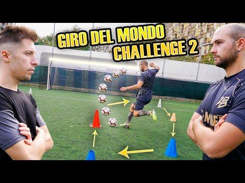 GIRO DEL MONDO Crossbar  CHALLENGE - Zapinho VS Diginho