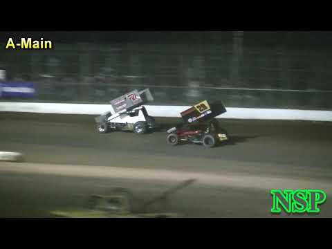 September 2, 2018 Summer Thunder Sprint Series A-Main Grays Harbor Raceway
