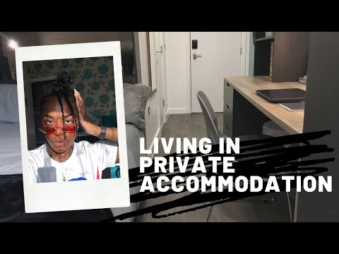NOT Living in halls | private accommodation? Pros Cons?