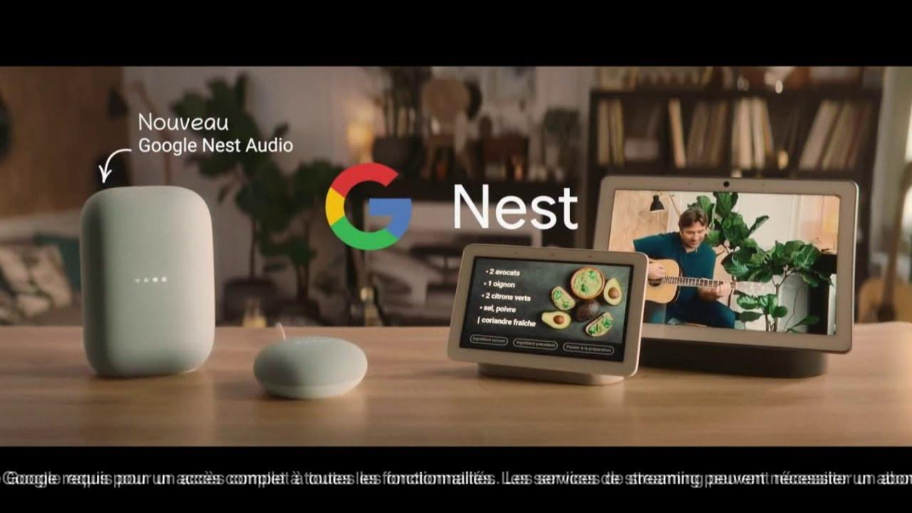 """Musique de la pub Google Nest Audio Boulanger """"si bien ensemble""""  2021"""