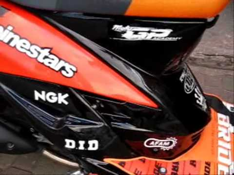 YAMAHA MIO CUSTOMIZED DESIGNwmv YouTube - Mio decalsyamaha mio sporty sticker decals for motorcycle cebu philippines