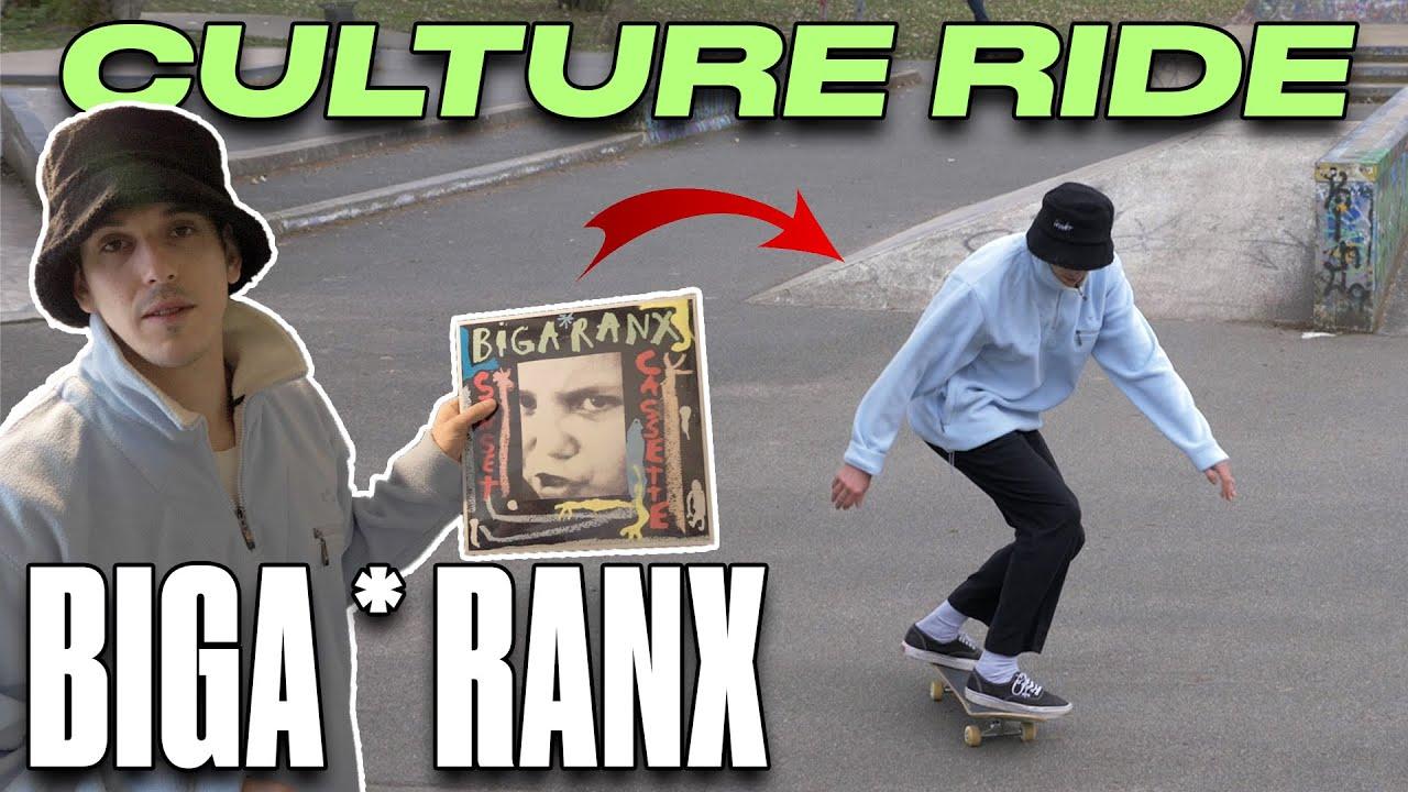 CULTURE RIDE #1 : Rencontre avec Biga*Ranx, entre musique et skateboard