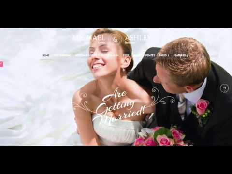 wedding website demo's