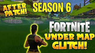 *NEW* Fortnite Under the Map Glitch! Playground SEASON 6