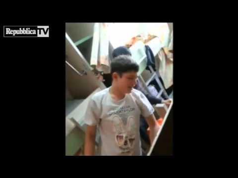 Corea, video da brividi: il traghetto affo...
