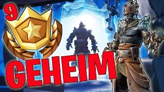 GEHEIMER BATTLE PASS STERN WEEK 9 SEASON 7 EN LEVEL UP - FORTNITE BATTLE ROYALE ENGLISH