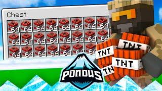 Pondus SMP :: TNT AMOK!! - Dansk Minecraft #32