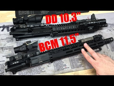 "BCM 11.5"" ""unboxing"" & VS MK18"