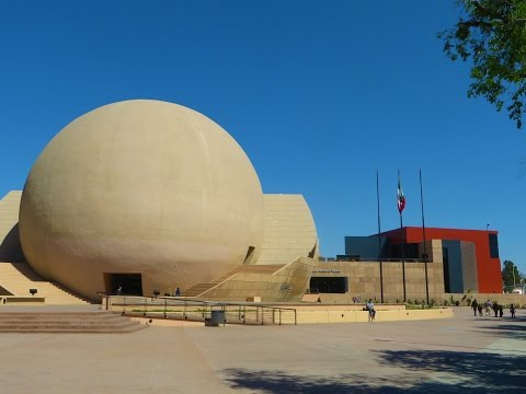 Tijuana, Mexico - Tijuana Cultural Center (La Bola) & other sights along Avenue of the Heroes