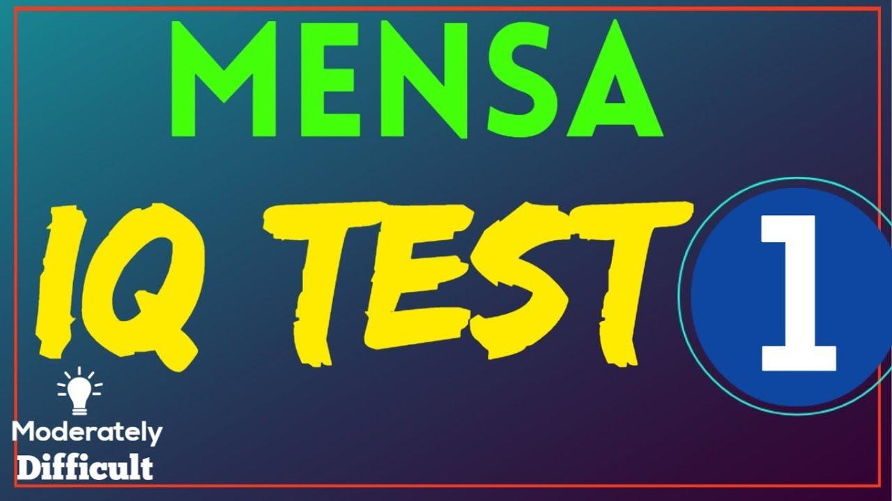Mensa IQ Challenge / IQ Test : 10 Questions
