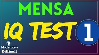 official mensa iq test