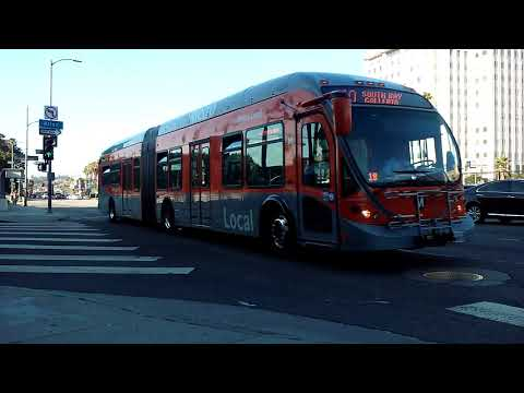 Transit & Commuter Buses in Los Angeles.