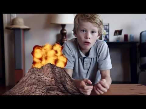 Comment faire une maquette de volcan et simuler une éruption volcanique ?