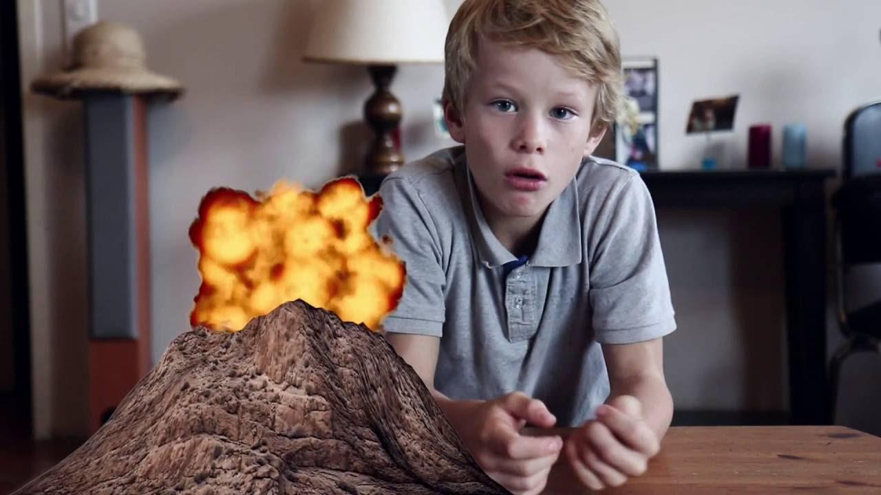 comment faire une maquette de volcan et simuler une. Black Bedroom Furniture Sets. Home Design Ideas