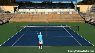 How to Beat a Pusher with Modern Tennis Footwork