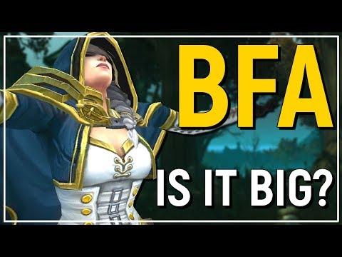 Battle for Azeroth TRUE Expansion Size Revealed! BfA VS Past Expansion Size Comparison
