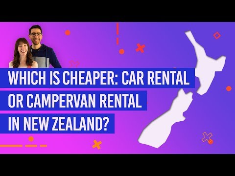 Which Is Cheaper: Car Rental Or Campervan Rental In New Zealand?