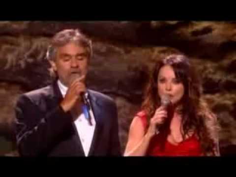 Andrea Bocelli & Sarah Brightman  Canto Della Terra Conciertoflv