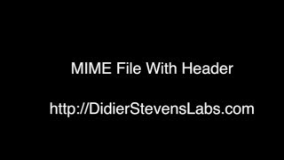 MIME File With Header