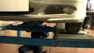 видео стенд регулировки углов установки