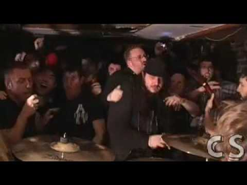 Dillinger Escape Plan (Live) Mullet Burden at New Jersey Basement Show 2-8-0