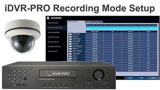 960H H.264 CCTV DVR Video Recording Setup