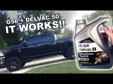 G56 Dual Disc with Mobil Delvac 50 - Before and After Comparison