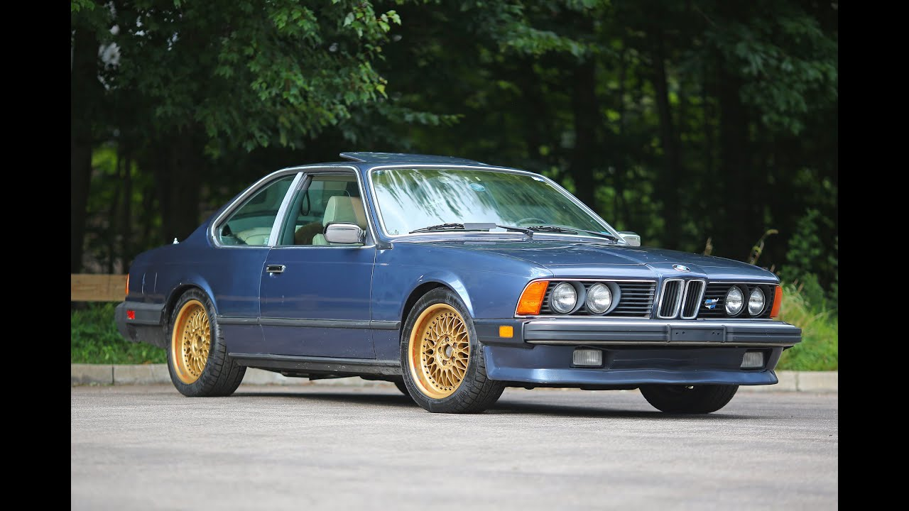 Bmw 635csi E24 1986 Model Review Youtube