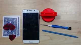 Samsung Galaxy S6 Dissassembly Under 10 Min. - Screen Replacement - Tear Down