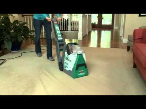 Bissell Big Green Deep Cleaning Machine At Sears Youtube