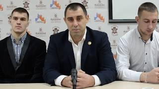 Прес-конференція Чернівецької міської федерації з рукопашного бою