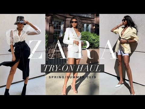 ZARA SPRING/SUMMER 2019 TRY-ON HAUL