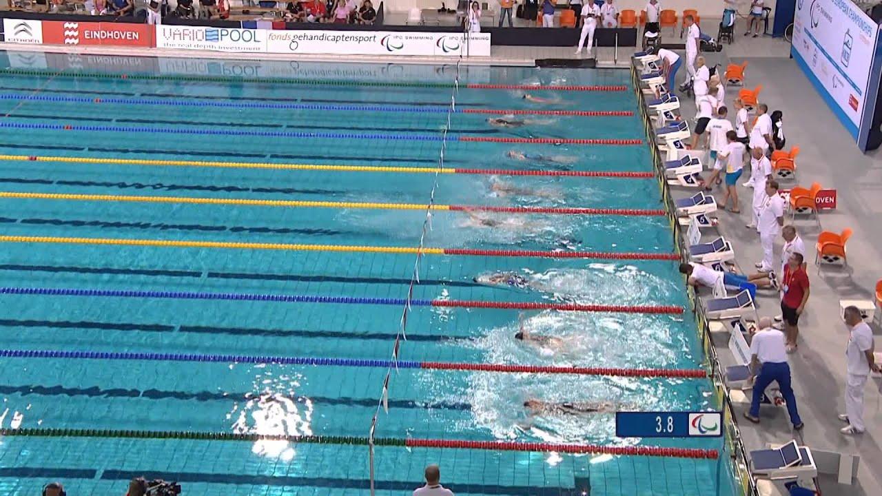 Women 39 S 100m Backstroke S2 S1 2 Final 2014 Ipc Swimming European Championships Eindhoven