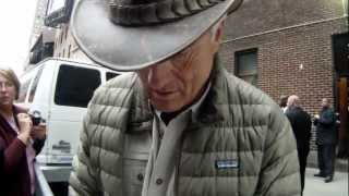 Jack Hanna leaving David Letterman