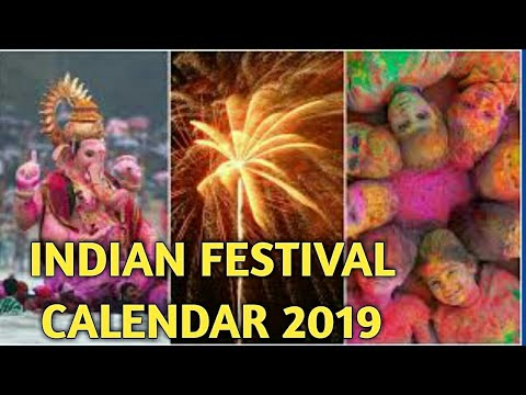 Indian Festivals 2019 Indian Holiday Calendar 2019 Jay Chetwani