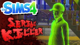VISITED BY A GHOST! | Serial Killer Challenge (The Sims 4)