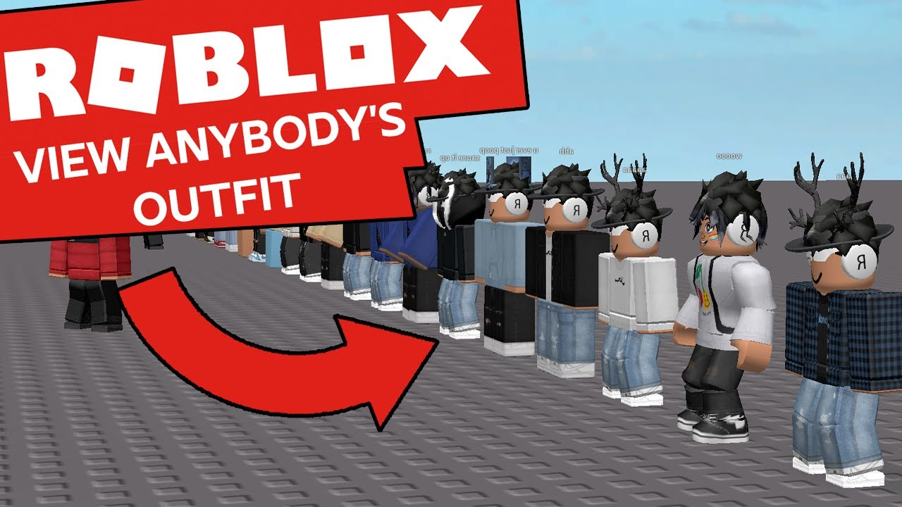 VIEW LITERALLY ANYBODY S OUTFITS ON ROBLOX (even users with hidden