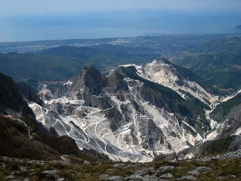 Carrara und Pietrasanta - Italien