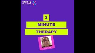 Joy Epstein 3 minute therapy