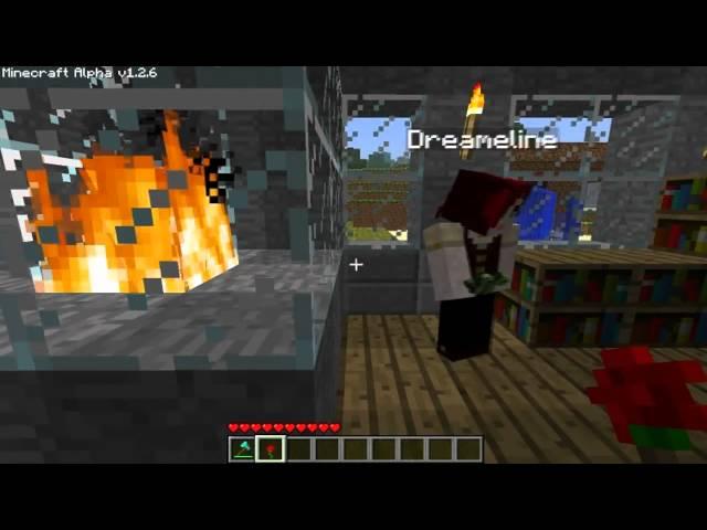 Minecraft Diaries 01 - Deutsch - Villa mit Kamin und Dusche - YouTube