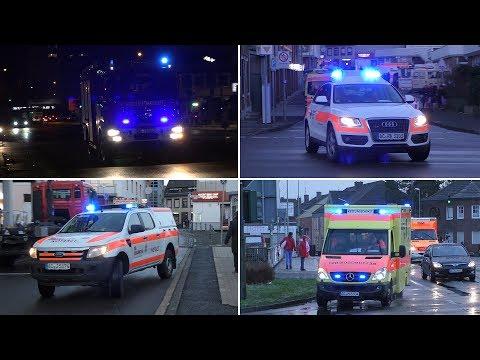 [MANV] Einsatzfahrten Rettungskräfte an Rosenmontag 2018 in Eschweiler