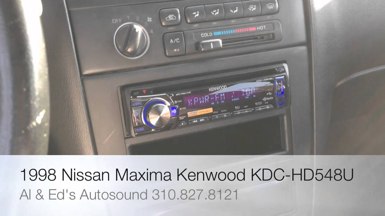 Kenwood Kdc Hd548u Wiring Diagram Stereo Books Of Excelon X994 Hd Radio And I Pod Direct Control 1998 Nissan Rh Youtube Com