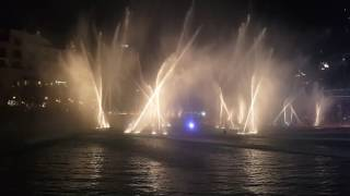 Michael Jackson- Thriller - Dubai Magic Fountain