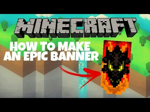 How to make a cool banner in minecraft ps4