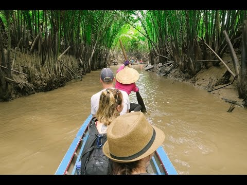 Mekong Delta / Tour From Ho Chi Minh City - Day 12 - Vietnam Travel Vlog