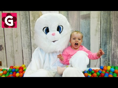 Thumbnail: Learn Colors with Surprise Eggs for Kids / Ball Pit Balls / Little Baby Playing with Bunny