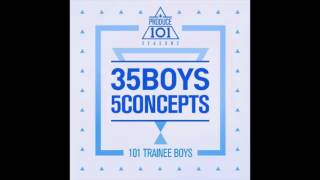국민의 아들   never produce 101   35 boys 5 concepts   audio