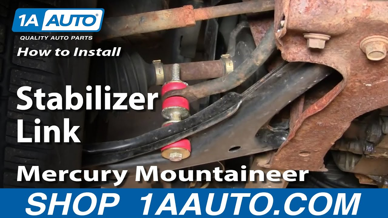 medium resolution of how to front sway stabilizer links 95 05 pontiac sunfire